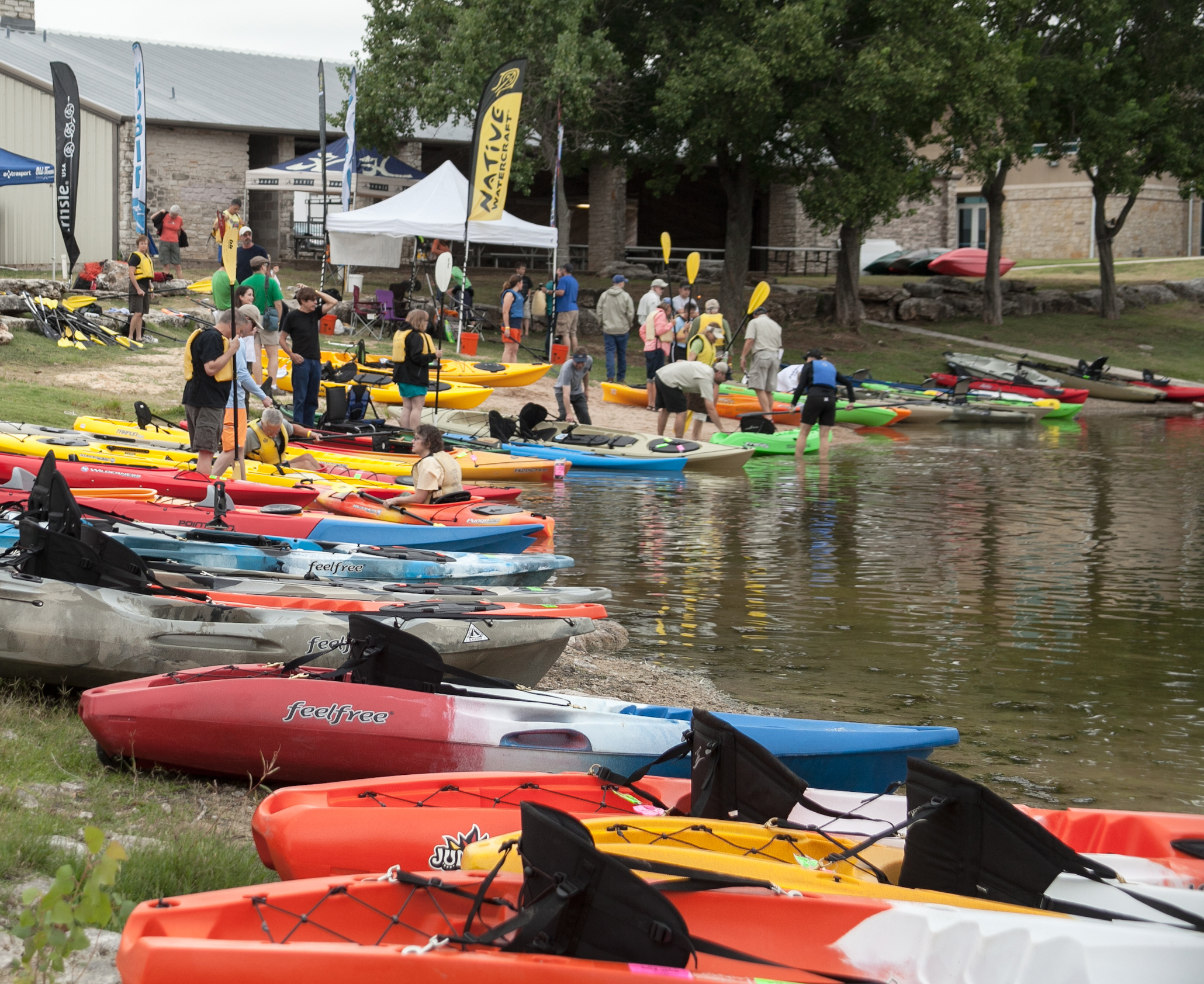 ACK Supports Local Paddlesports Community With 8th Annual Spring Demo Days Event