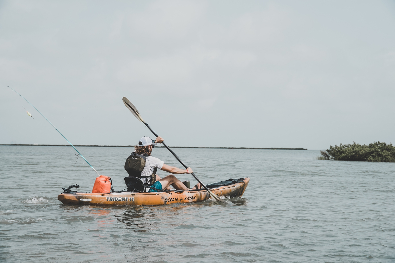 Photo Blog: Kammok's Travis Perkins Goes Inshore Kayak Fishing